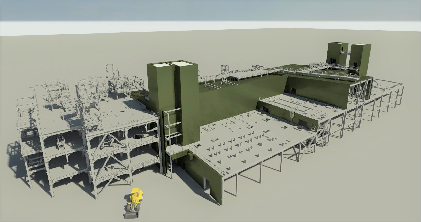 KUBUS-DUPONT LUXEMBURG-3D View-render 6c met shovel